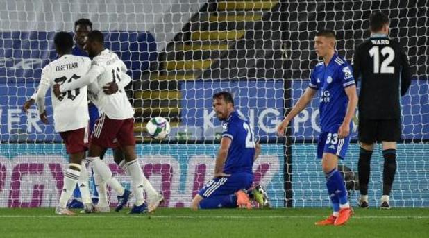 League Cup - Leicester, met invaller Praet, gaat eruit tegen Arsenal