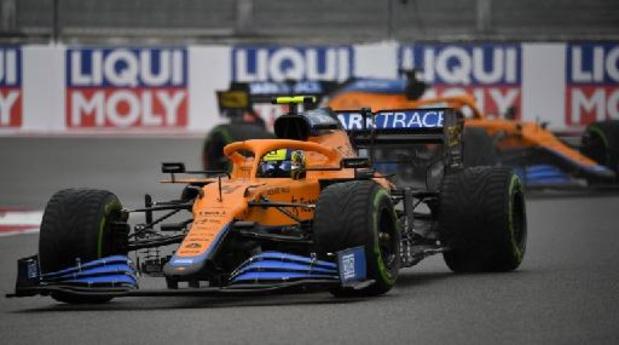F1: Lando Norris pakt verrassend de pole in Sotsji