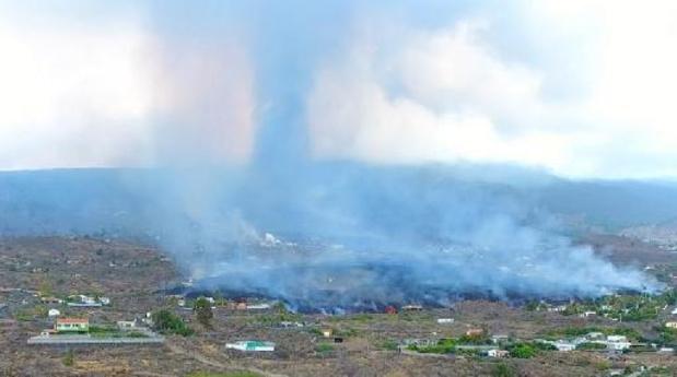 Six mille personnes évacuées au total à cause de l'éruption d'un volcan aux Canaries