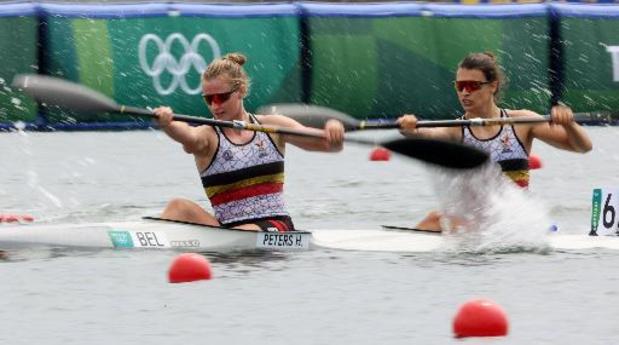 JO 2020 - Pas de finale A en kayak biplace pour Hermien Peters et Lize Broekx
