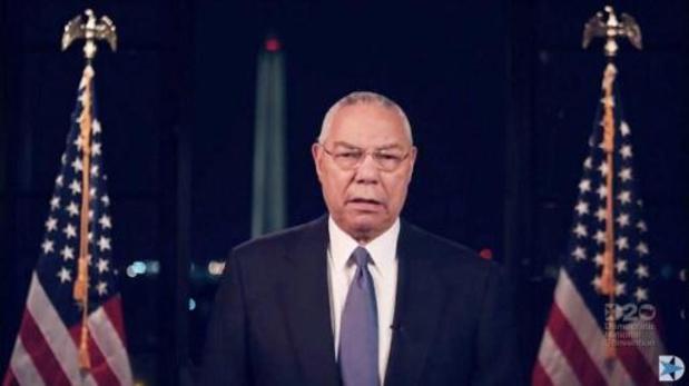Bestorming Capitool - Colin Powell noemt zichzelf geen Republikein meer
