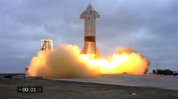 Prototype van Starship-raket maakt succesvolle landing