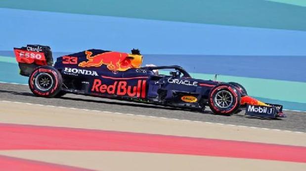 Max Verstappen (Red Bull) is snelste in eerste oefenritten