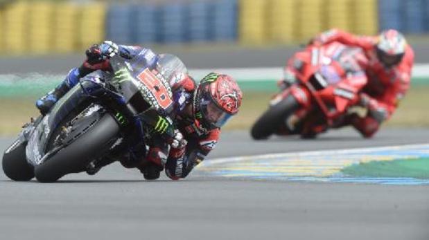 Miller snelt naar zege in MotoGP, Quartararo komt weer aan kop in WK-stand