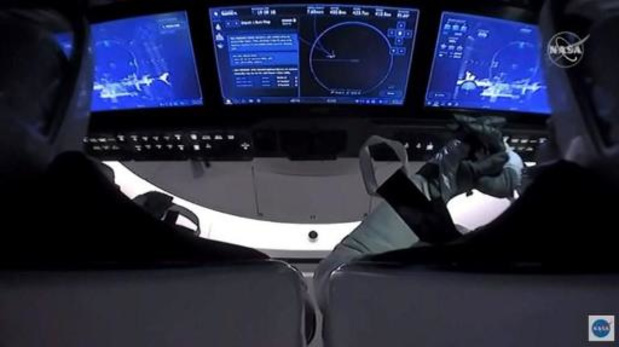 Capsule SpaceX : Deux astronautes en route pour la Terre