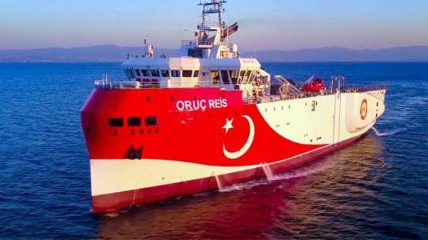 Un navire turc au coeur des tensions en Méditerranée rentre au port