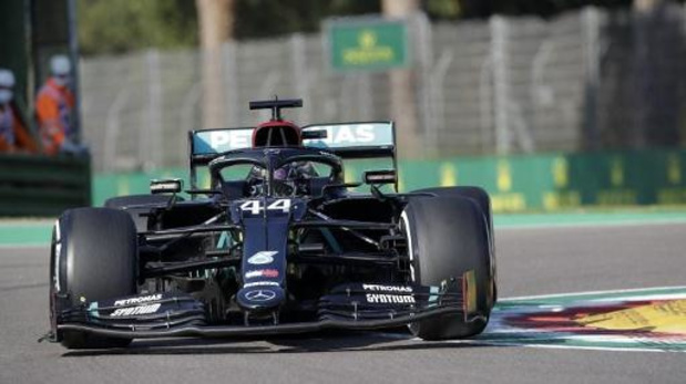 Lewis Hamilton is de snelste in vrije oefensessie F1 - GP van Emilia-Romagna