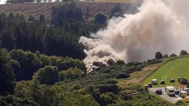 Drie doden na treinontsporing in Schotland