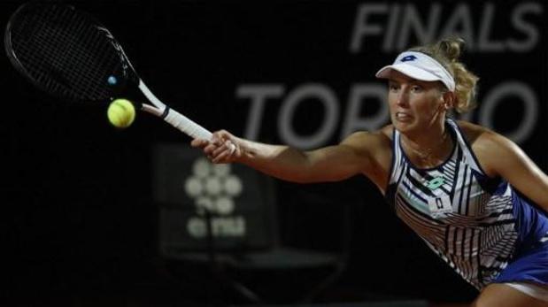 WTA Rome - Mertens sneuvelt in de kwartfinales