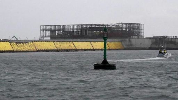 """""""Jour historique"""" à Venise, protégée de la crue par ses digues artificielles"""