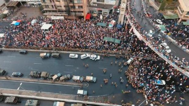 Libanese militairen gebruiken geweld tegen betogers