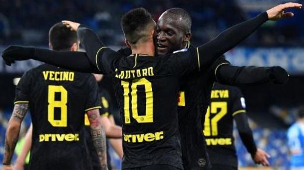 Belgen in het buitenland - Lukaku en Inter komen niet verder dan een puntendeling tegen Atalanta