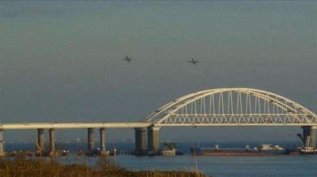 Poutine inaugure lundi un pont pour le trafic ferroviaire entre la Crimée et la Russie