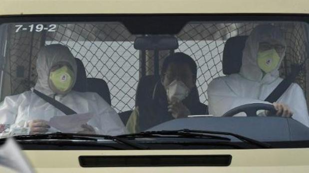 Eerste uit China gerepatrieerde Fransen hebben quarantaine kunnen verlaten
