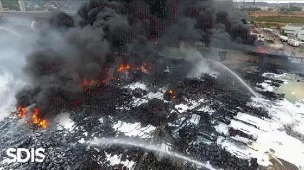 Incendie de Lubrizol: la cour d'appel de Paris confirme la mise en examen de la société