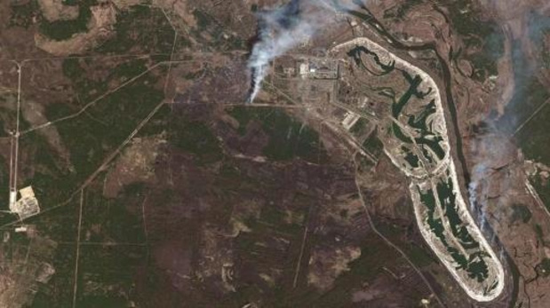 Oekraïense president Zelenski: branden in Tsjernobyl zijn geblust