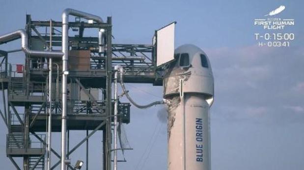 New Shepard draagraket met Jeff Bezos gelanceerd