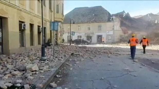 Aardbeving Kroatië - Von der Leyen belooft hulp