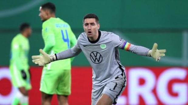 Les Belges à l'étranger - Match nul entre Wolfsbourg et Mönchengladbach, sixième clean sheet d'affilée pour Casteels