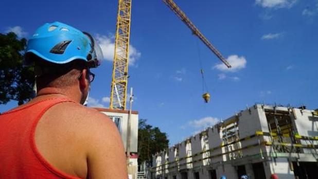 Meer afwezigheden bij 74 procent van bouwbedrijven in tweede golf