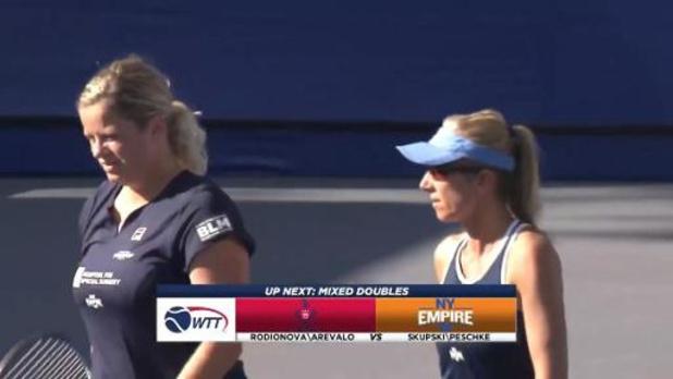 World Team Tennis - New York Empire, sans Clijsters, remporte le tournoi