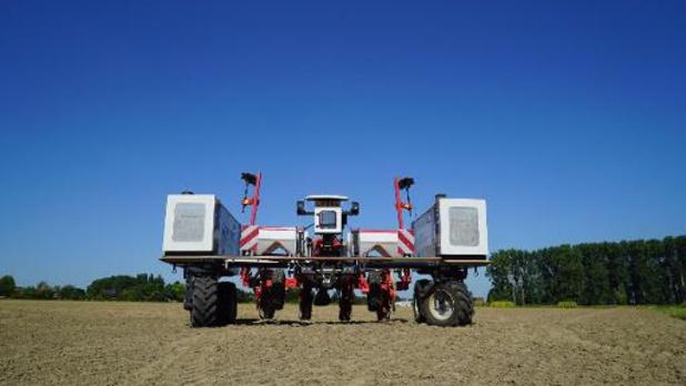 Un robot de haute technologie mis au point par l'UGent pour aider les agriculteurs