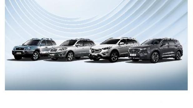 Hyundai Santa Fe viert twintigste verjaardag