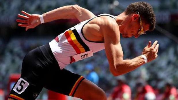 Victime d'une douleur à l'ischio-jambier, Kevin Borlée renonce aux demies du 400 mètres