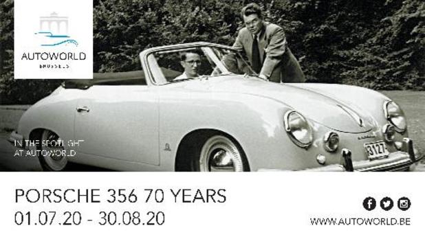 Porsche 356 viert 70ste verjaardag in Autoworld