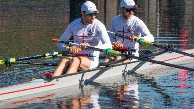 OS 2020 - Tim Brys en Niels Van Zandweghe grijpen ticket voor halve finales lichte dubbeltwee