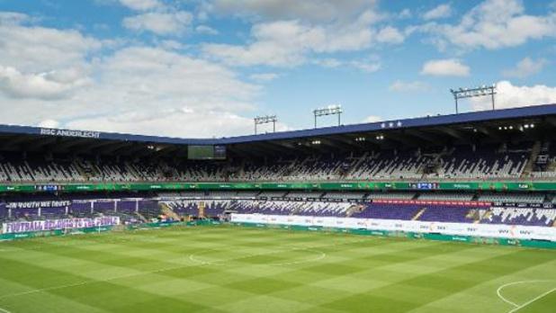 Feu vert ministériel au protocole sur le retour des supporters au stade d'Anderlecht