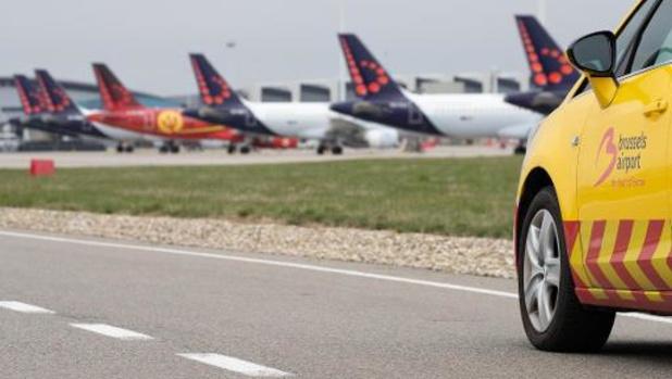 Près de 90% des vols passagers ont été annulés à Brussels Airport