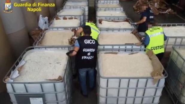 Assads produceerden 14 ton amfetaminen die Italië in beslag nam