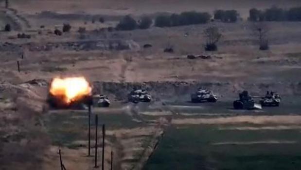 Nagorno Karabach - VS, Rusland en Frankrijk roepen op tot een onmiddellijk bestand