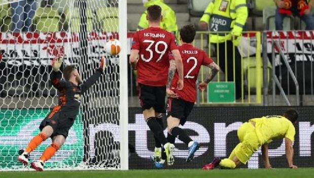 Europa League - Villarreal bat Manchester United en finale 11 aux tirs au but à 10