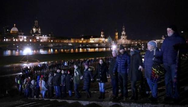 Dresden herdenkt 75 jaar sinds WOII-bombardementen