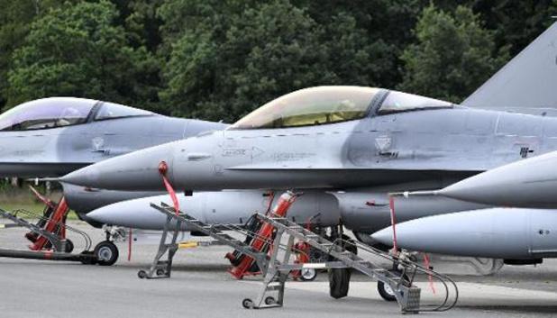 La flotte de F-16 belge reprend du service et garde le ciel du Benelux