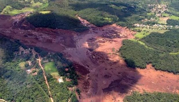 Braziliaans mijnbedrijf Vale betaalt miljarden om dodelijke dambreuk