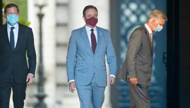 Bart De Wever exprime ses regrets devant le manque de courage politique