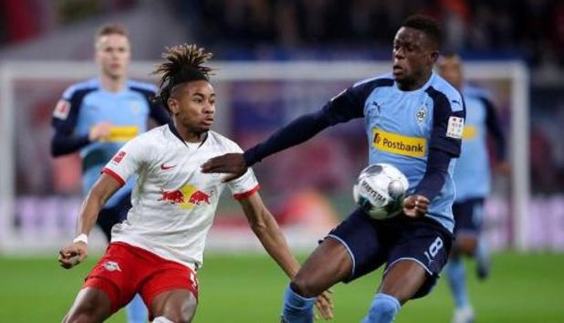 Bundesliga - RB Leipzig verspeelt de leidersplaats na puntendeling tegen Mönchengladbach