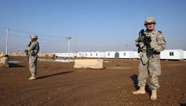 Twintigtal raketten afgevuurd in Irak, geen soldaat geraakt
