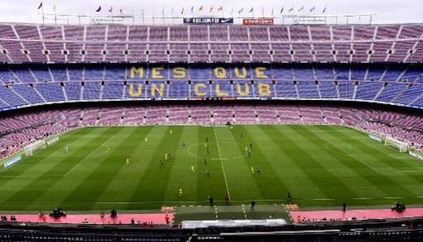 Le match Barcelona/Naples à huis clos