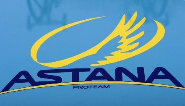 Astana continue un an de plus au sein du peloton