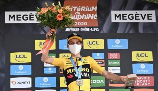 """Critérium du Dauphiné - Kuss après sa victoire d'étape: """"Un nouvel état d'esprit m'a donné cette chance"""""""