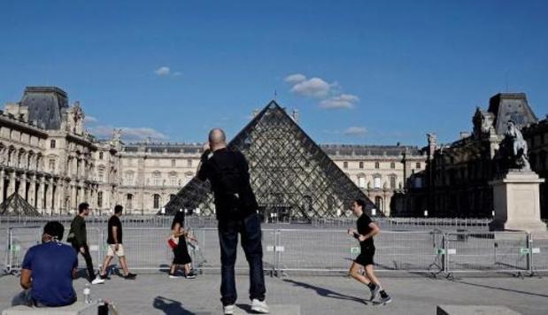 Louvre heropent op 6 juli