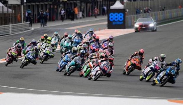Barry Baltus 20e du Grand Prix d'Europe à Valence