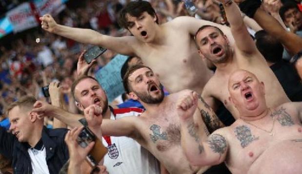 Euro 2020 - Partout dans Londres, les supporters anglais survoltés avant la finale de l'Euro