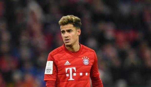 Bundesliga - Bayern München licht aankoopoptie Coutinho niet