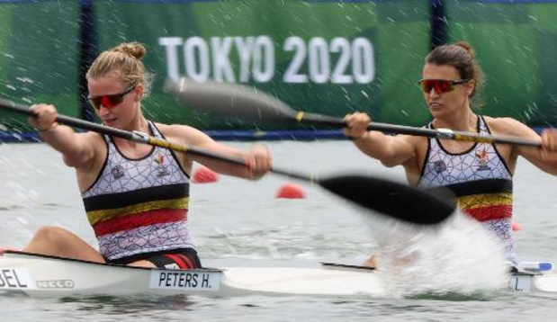 OS 2020 - Hermien Peters en Lize Broekx grijpen naast finaleplaats K2 500 meter