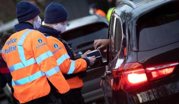 Près de 3.500 tests alcool et drogues au volant ce week-end à Bruxelles et Laeken